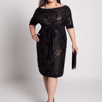 Plus Size Gretta Lace Dress by IGIGI