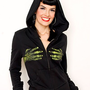 Monster/ Zombie Hands Girls Hoodie :: VampireFreaks Store :: Gothic Clothing, Cyber-goth, punk, metal, alternative, rave, freak fashions