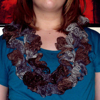 Extra Long Ruffle Scarf from Wild Ivy Design