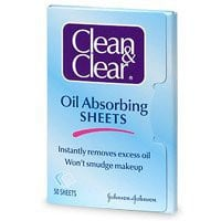 Amazon.com: Clean & Clear Instant Oil-Absorbing Sheets 50 sheets: Beauty