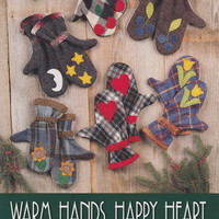 Mittens Patterns: Warm Hands, Happy Heart by Indygo Junction