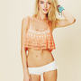 Free People Carefree Crochet Crop Top