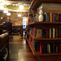 Gild Hall NYC Hotel library