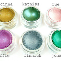 The Hunger Games Collection - 6 piece mineral eyeshadow set