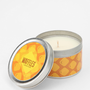 Novelty Scent Tin Candle
