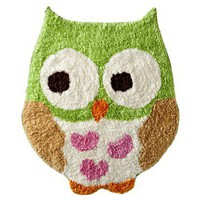 Circo? Love n Nature Owl Bath Rug 