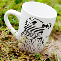 The Original Dalek Dr Who MMMug by betwixxt on Etsy