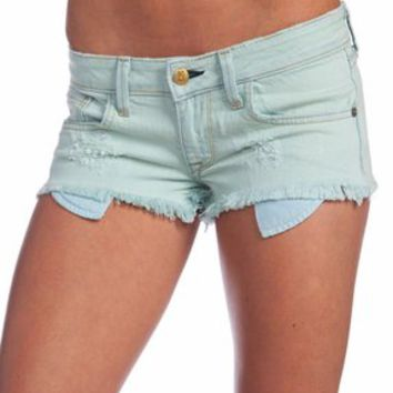 Wildfox Couture Friday Night Cutoff Shorts in Clear Pool