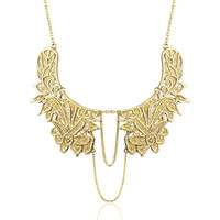 Metal Lace Necklace on Luulla