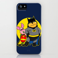 Winnie the Bat (Winnie Pooh vs. Batman)  iPhone Case by Olechka | Society6