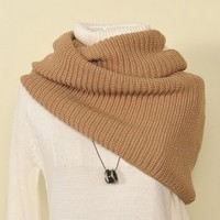 Hot Sale Korean Fashion Junior Scarves Khaki : Wholesaleclothing4u.com
