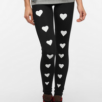 Sauce Heart Legging - Available with Red or White Hearts