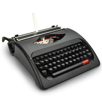 The Wordsmith&#x27;s Manual Typewriter - Hammacher Schlemmer