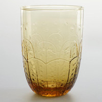 Amber Fez Tumblers, Set of 4