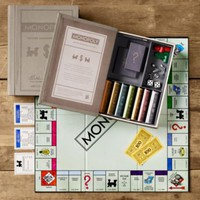 Vintage Bookshelf Monopoly | Monopoly | Restoration Hardware