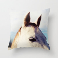 All Ears  Throw Pillow by Erin Johnson | Society6