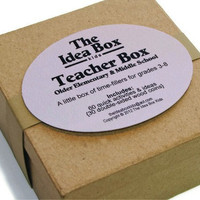Teacher Box  3rd-8th Grade ... Time Fillers for Teachers, The Idea Box