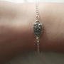 Silver Owl Charm Bracelet