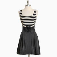 adelle striped pleated dress - &amp;#36;42.99 : ShopRuche.com, Vintage Inspired Clothing, Affordable Clothes, Eco friendly Fashion