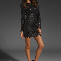 AMERICAN RETRO Sequins Dress in Black at Revolve Clothing - Free Shipping!
