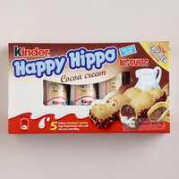 Kinder Happy Hippo Hazelnut Biscuits