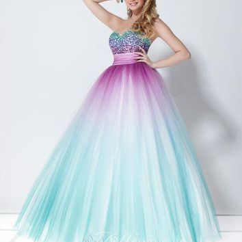 Tiffany 16897 at Prom Dress Shop