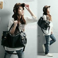 Korean Style Women Lady PU Leather Handbag Shoulder Bag 4 Color New Hot Fashion