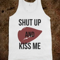 Reece Mastin Shut Up and Kiss Me tank