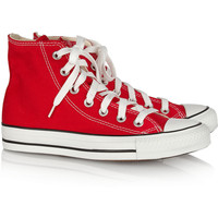 Converse|Chuck Taylor canvas high-top sneakers|NET-A-PORTER.COM