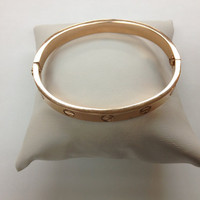 Cartier Inspired love bracelet