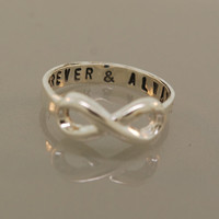 Custom Infinity Ring