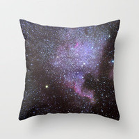 North American Nebulae. The Milky way. North America Nebula Throw Pillow by Guido Montañés | Society6