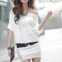 YOCO Fashion White Dress Wholesale Online : Yoco-fashion.com