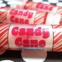 Candy Cane Lip Balm - Multi-Layered - 100% Natural