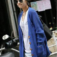 Asian Clothing Wholesale Nanning9 Fashion Special Design Street Loosen Long Sweater_F/W Coats_Wholesale - Wholesale Clothing, Wholesale Shoes, Bags, Jewelry, Wholesale Fashion Apparel & Accessories Online