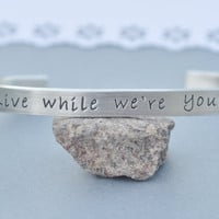Live While We&#x27;re Young Bracelet
