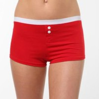 UrbanOutfitters.com > Solid Button-Fly Boyshort Panty