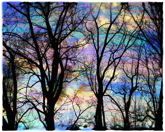 Cotton candy sunrise 8x10 Fine Art altered by dahliahousestudios