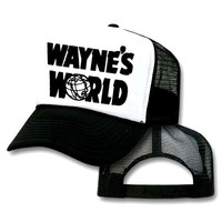 Wayne's World Mesh Trucker Hat Cap Halloween