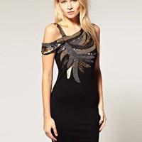 ASOS | ASOS Sequin Dress with Double Strap at ASOS