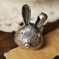 Retro France Fashion Cute Rabbit Rings : Wholesaleclothing4u.com