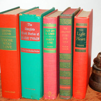 Vintage Book Collection from 1940's to 1960's