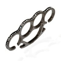 nOir Jewelry - Pyramid - Solid Brass Knuckles