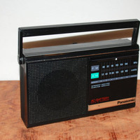 Vintage Panasonic RF-542 Radio Power Source