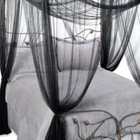 Mombasa™ Majesty Black Bed Canopy