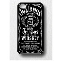 Jack Daniels Iphone case for iphone 4 or iphone 4S