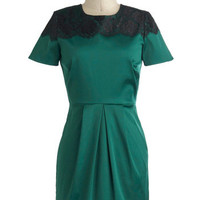 My Tsavorite Things Dress | Mod Retro Vintage Dresses | ModCloth.com