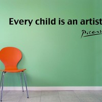Picasso - Every Child Is An Artist .. on Luulla