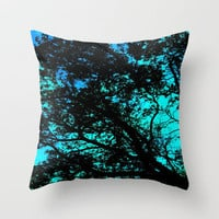 Shining Through Throw Pillow by Camille Renee | Society6