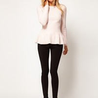 Ted Baker Peplum Jumper at asos.com